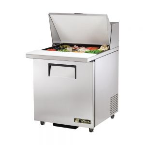 Sandwich/Salad Unit Mega Top, 1 Door, 12 Pans, ADA Compliant, 27-5/8 Inch Wide