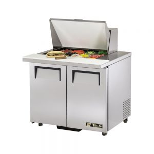 Sandwich/Salad Unit Mega Top, 2 Door, 12 Pan, ADA Compliant, 36-3/8 Inch Wide