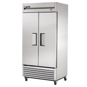 Stainless In and Out Refrigerator, 2 Door, 35 Cu. Ft.