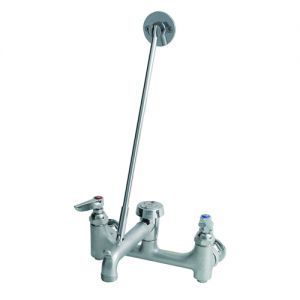 Service Sink Faucet with Lever Handles, 8 Inch Centers