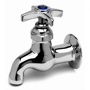Heavy Duty Single Sink Faucet with Four Arm Handle