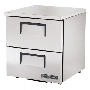 "27"" Undercounter Refrigerator w/ Two Drawers - Low Profile"