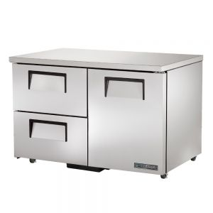 """48"""" Undercounter Refrigerator w/ One Solid Door and Two Drawers - ADA Compliant"""