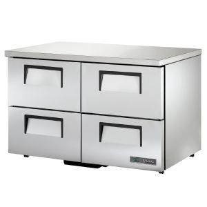 "48"" Undercounter Refrigerator w/ Four Drawers - Low Profile"