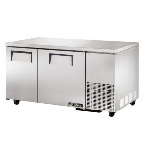 Deep Undercounter Freezer, Commercial Freezer, 2 Door, 60-1/4 Inch Wide