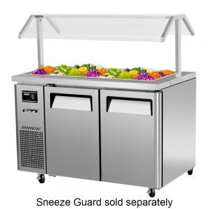 Refrigerated Buffet Table, Two Section, 11 Cu. Ft.