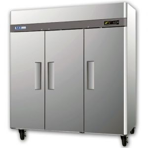 3 Solid Door Reach-In Commercial Freezer 72 Cu. Ft.