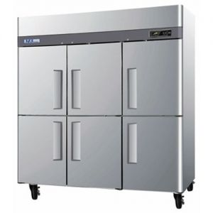Freezer, Reach-In, Three-Section, 72 cu. ft.