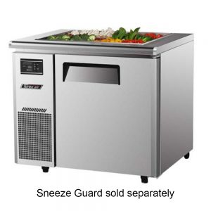 Refrigerated Buffet Table, One Section, 7.5 Cu. Ft.