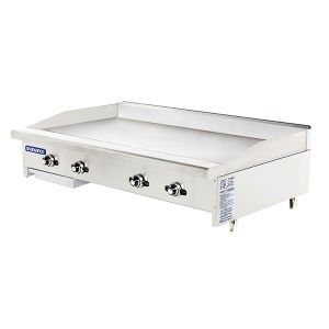 Thermostat Control Griddle, 48 Inches