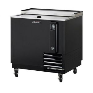 Bottle Cooler, 36 Inches Long, Black Exterior