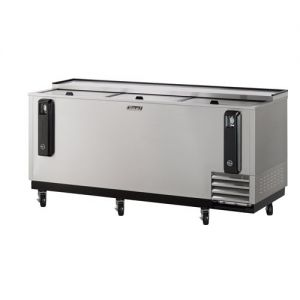 Bottle Cooler, 80 Inches Long, Stainless Steel Exterior