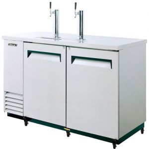 Beer Dispenser, 59 L Silver