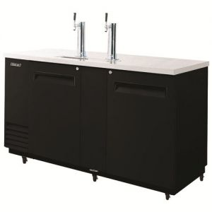 Beer Dispenser, 69 L Black