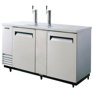 Beer Dispenser, 69 L Silver