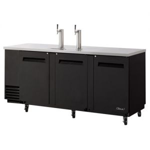 Direct Draw 4 Keg Beer Dispenser, Black