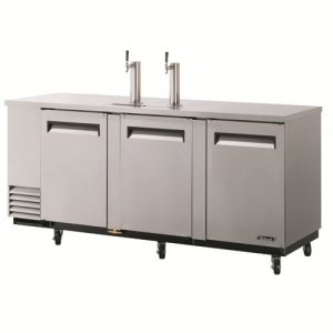 Direct Draw 4 Keg Beer Dispenser, Stainless Steel