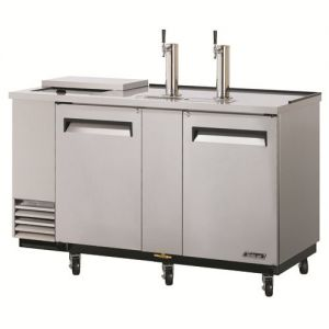 Club Top Direct Draw 3 Keg Beer Dispenser, Stainless Steel, 79 Inches