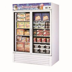 Freezer Merchandiser, two-section, 49 cu. ft.