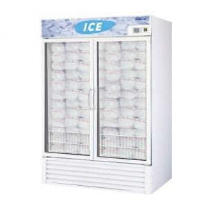 Ice Merchandiser, Two Section, 46.2 Cu Ft