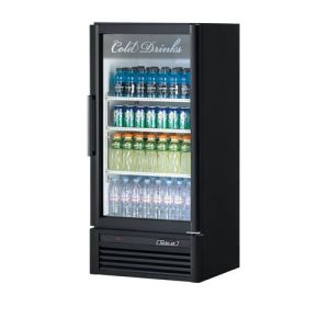 Super Deluxe Refrigerated Merchandiser, One Section, 9.3 Cu Ft