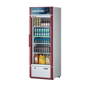 Super Deluxe Refrigerated Merchandiser, One Section, 17.5 Cu Ft