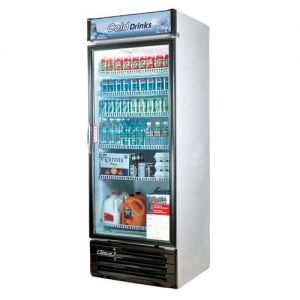 Refrigerated Merchandiser, One-Section, 22 Cu. Ft.
