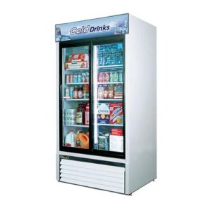 Refrigerated Merchandiser, two-section, 35 cu. ft.