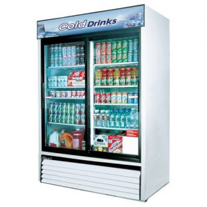 Refrigerated Merchandiser, two-section, 48 cu. ft.