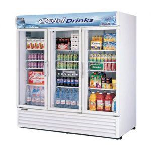 Refrigerated Merchandiser, Three-Section, 72 Cu. Ft.