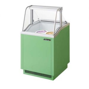 Ice Cream Dipping Cabinet, 26 Inches, Green