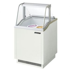 Ice Cream Dipping Cabinet, 26 Inches Wide, (4) 3 Gal. Can Capacity