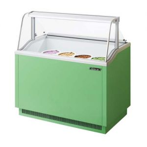 Ice Cream Dipping Cabinet, 47 Inches, Green
