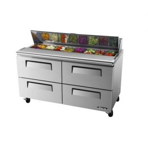 Super Deluxe Sandwich/Salad Unit, 4 Drawers, 16 cu. ft.