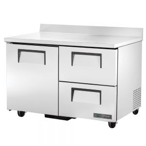 """48"""" Worktop Refrigerator w/ One Door and Two Drawers"""