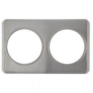 Adapter Plate, Two 8 3/8 Inch