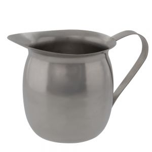 Update BC-8 8 Oz Stainless Steel Bell Creamer
