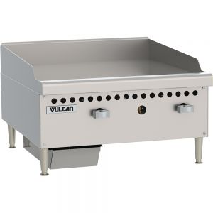 Manual Control Griddle, Counter Model, 24 Inch, Gas