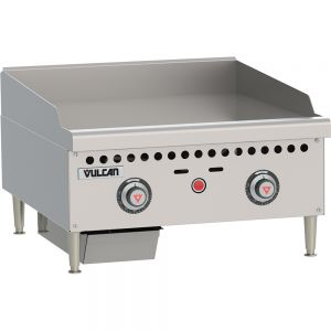 Thermostatic Control Griddle, Counter Model, 24 Inch, Gas