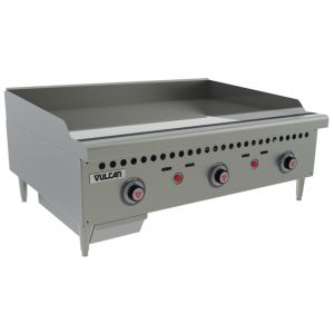 Thermostatic Control Griddle, Counter Model, 36 Inch, Gas