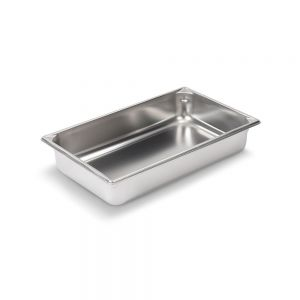 Full Size Stainless Steel Food Pan, 4 Inch Deep