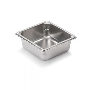 Sixth Size Stainless Steel Food Pan, 2.5 Inch Deep