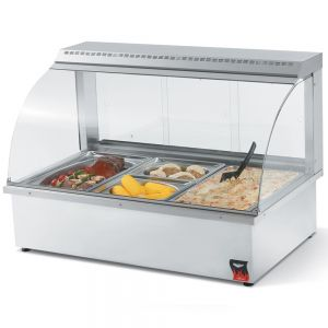 Heated Display, Hot Food Bar, Counter Unit, 43 Inch Wide, Service Type