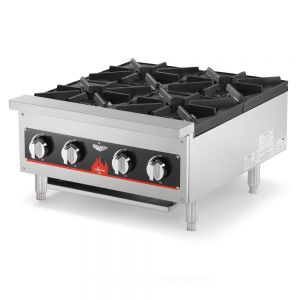 Countertop Hot Plate, 4 Burner, Gas