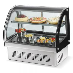 Refrigerated Display Cabinet, Countertop, 36 Inch, 110v