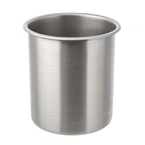 Stainless Steel Bain Marie 4-1/4 Qt. Round