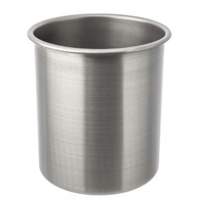 Stainless Steel Bain Marie 6-1/8 Qt. Round