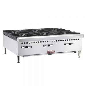Hotplate, 6 Burner, 36 Inch, Gas