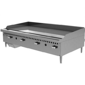 Manual Control Griddle, Counter Model, 48 Inch, Gas