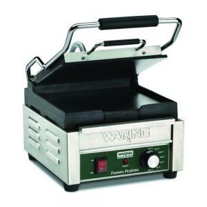 Tostato Supremo Compact Italian Style Flat Grill with Timer - 120v
